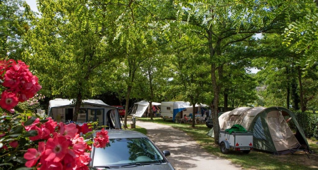 Camping Les Coudoulets emplacements