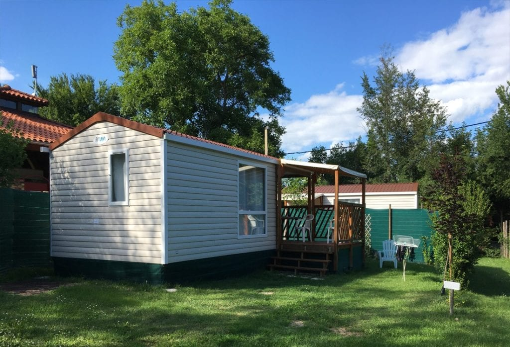 Camping Le Clos Auroy mobil home 1